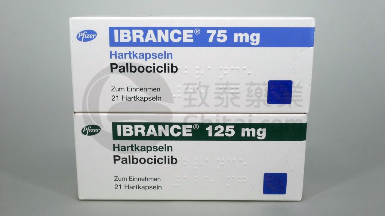IBRANCE/PALBOCICLIB/帕博西尼胶囊 1 1