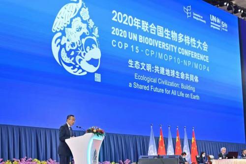 构建生态低碳 打造乳业未来 蒙牛卢敏放出席COP15高级别会议